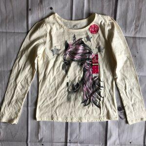 GRANIMALS Long Sleeve Top Shirt 8 NWT 365 Kids
